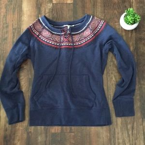 Lucky Brand | Pullover Embellished Sweatshirt XS